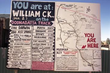 #william creek #australien #blueskytravel