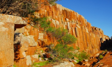 Organ Pipes Gawler Ranges SA AU