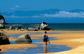Abel Tasman Nationalpark Neuseeland NZ