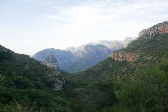 Panoramic Route Three Rondavels Südafrika