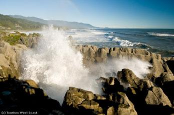 Pancake Rocks Punakaiki Neuseeland NZ