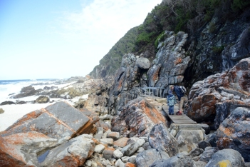 Tsitsikamma Nationalpark Otter Trail Südafrika ZA