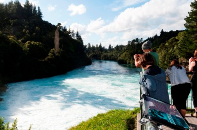 #blueskytravel #reisespezialist #neuseeland #hukafalls
