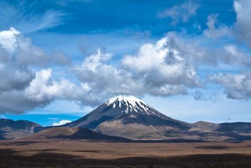 Tongariro Nationalpark Neuseeland