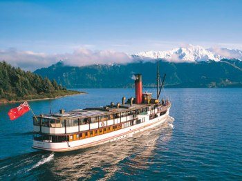 TSS Earnslaw Queenstown Neuseeland