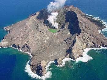 White Island Neuseeland NZ