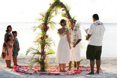 Cook Islands Hochzeit