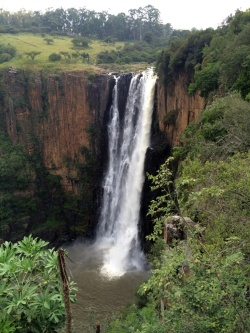 Howick Wasserfall Midlands SÜdafrika