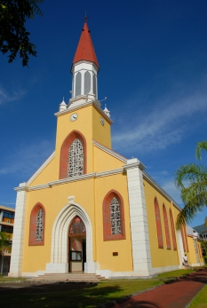 Cathedrale Papeete Tahiti