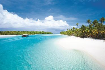 Passage nach One Foot Island Cook Islands