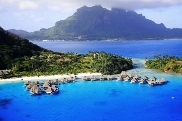 Blaue Lagune Bora Bora
