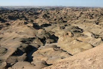 Mondlandschaft bei Swakopmund Namibia