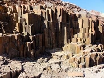 Twyfelfontein Orgelpfeifen Namibia