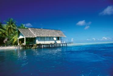 Perlenfarm Tuamotu Inseln