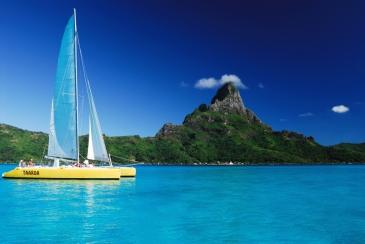 Segeln Bora Bora