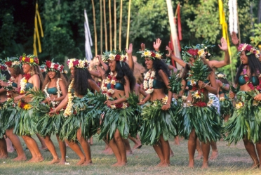 Tanzvorführung Tahiti
