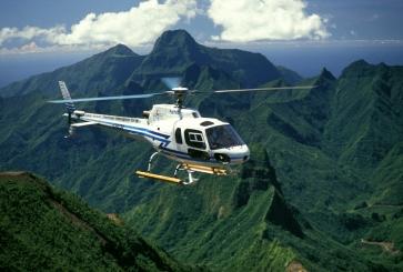 Helikopterrundflug Tahiti