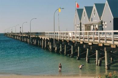 #busselton #jetty #underwaterobservatory #train #westernaustralia #australien #blueskytravel
