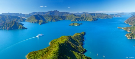 Marlbourough Sound Neuseeland