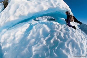 Neuseeland Gletscher