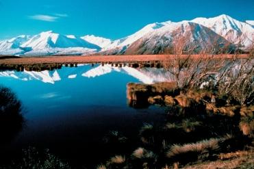 Lake Heron Neuseeland
