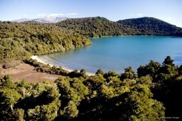 Lake Rotopounamu Neuseeland