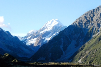 Mount Cook Hooker Valley Neuseeland