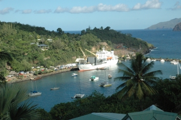 Hiva Oa Marquesas Inseln Aranui