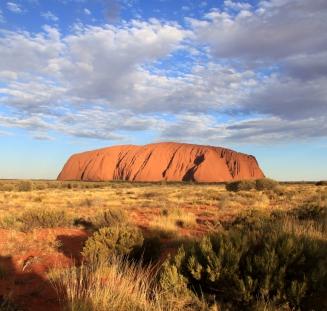 #uluru #ayersrock #northernterritory #australien #Blueskytravel