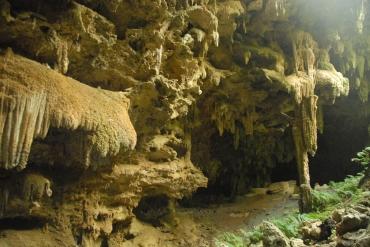 Anatakitaki Cave, Atiu, Cook Inseln