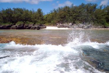 Cooks Landing Atiu Cook Islands