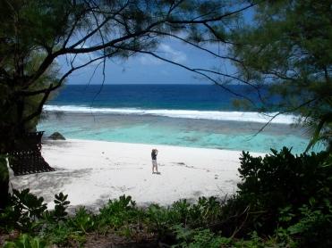 Atiu Tangaroro Beach Cook Inseln