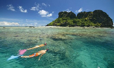 Captain Cook Cruises Fidschi Unterwasser