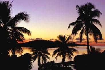 Sonnenuntergang Fidschi Fiji