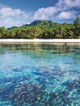 Titikaveka-Lagoon Cook Islands