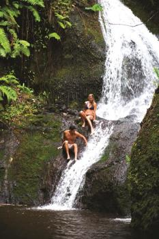 Wigmores-Waterfall Cook Islands