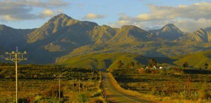 Oudtshoorn Kleine Karoo Südafrika ZA