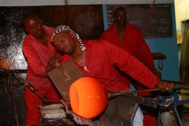 Glasbläserei Swaziland