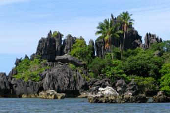 Lindéralique Lagune, Hienghène, Neukaledonien