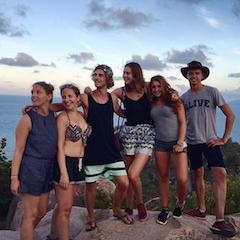 Junge Reisende Australien
