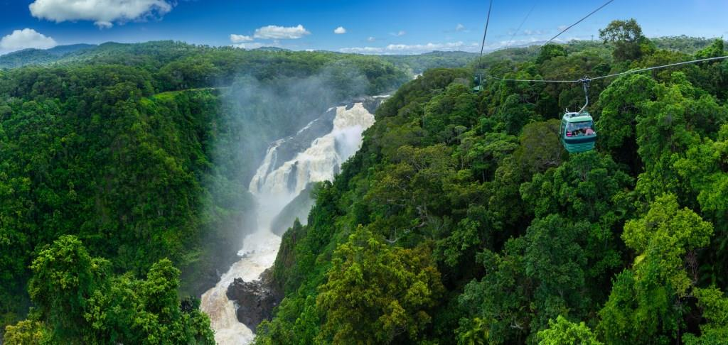 Barron Falls Atherton Tablelands Cairns Queensland