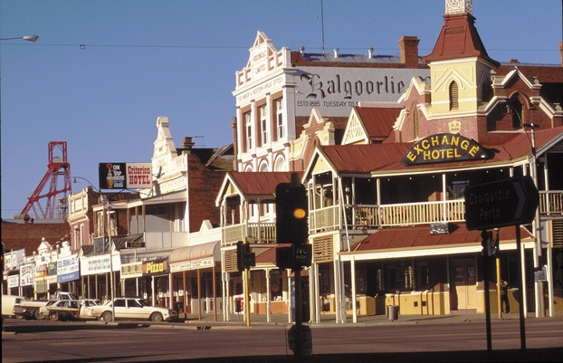 Kalgoorlie Goldstadt Westaustralien WA