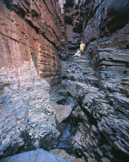 Schlucht im Karijini Nationalpark Westaustralien WA
