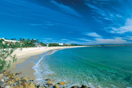 Strand bei Noosa Sunshine Coast Queensland Australien QLD