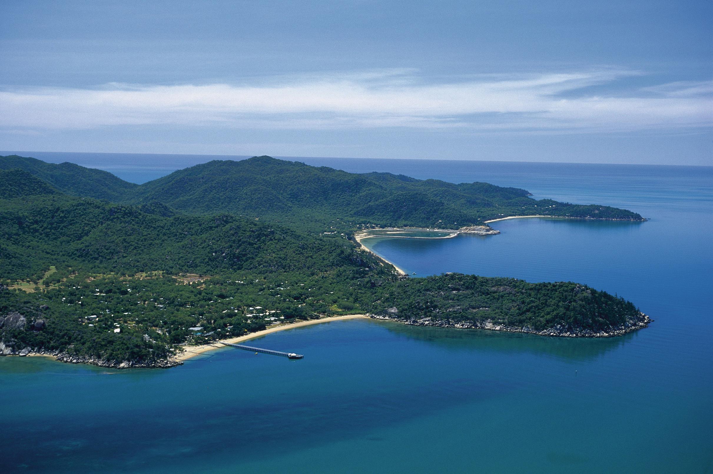 Luftaufnahme Magnetic Island Queensland Australien