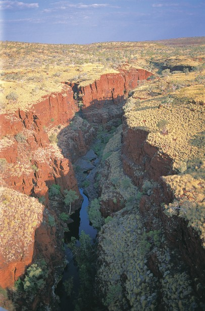 Oxers Lookout Karijini Nationalpark Westaustralien WA