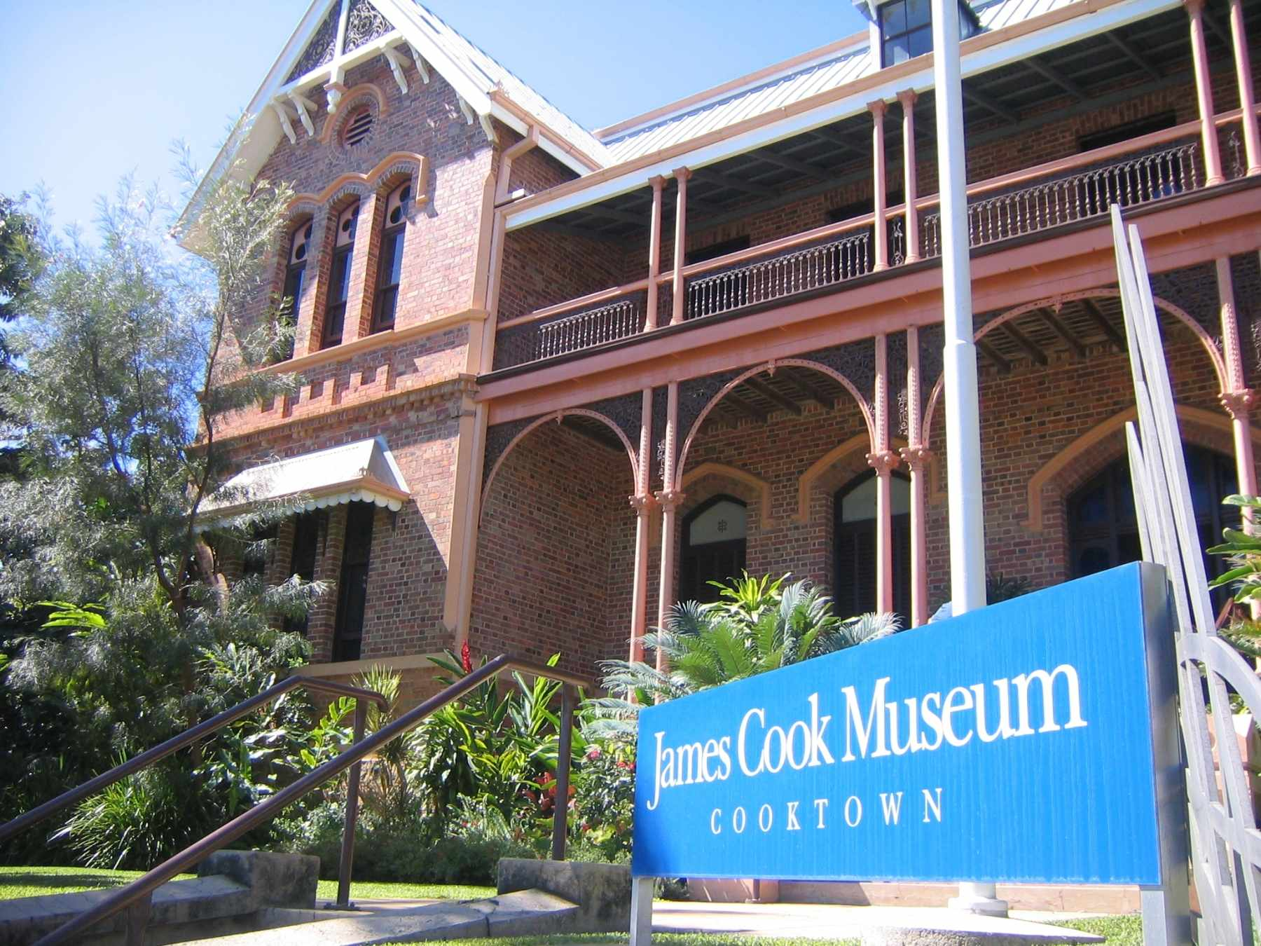 James Cook Museum Cooktown Queensland QLD Australien
