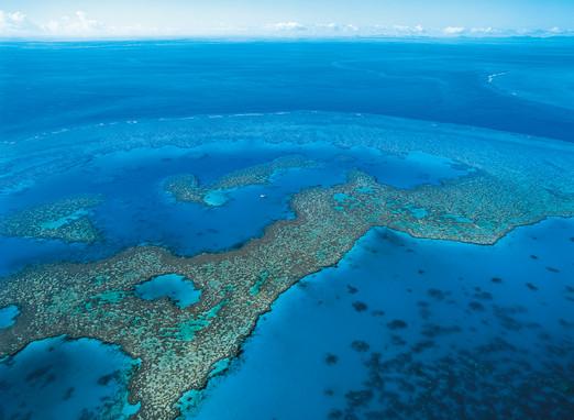Luftaufnahme Great Barrier Reef Queensland Australien