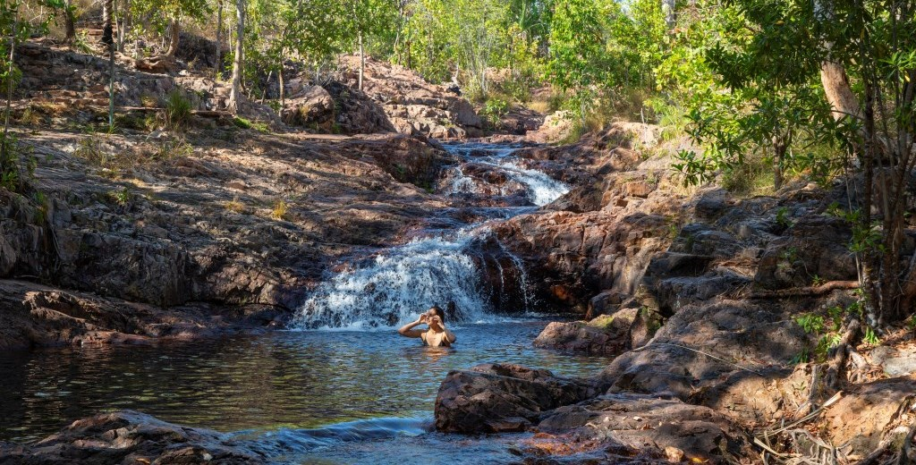 Buley Rockholes Litchfield Nationalpark Northern Territory