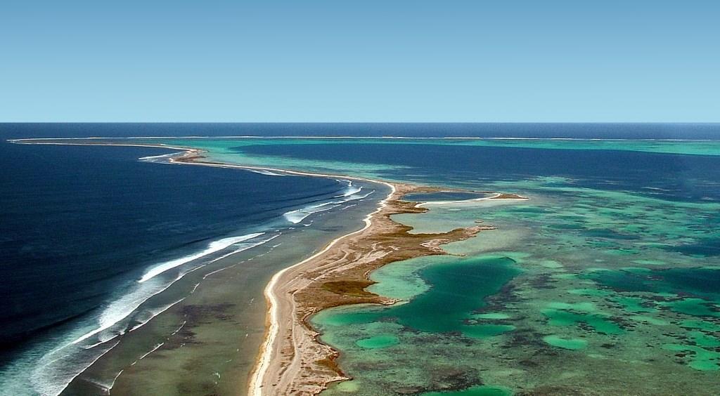 Luftaufnahme Abrolhos Islands Geraldton Westaustralien